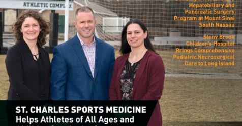 MD News Long Island – St  Charles Sports Medicine Helping